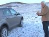 Skjáskot úr myndbandi The Sunday Times sem virðist sýna utanvegaakstur í friðlandinu við Kleifarvatn.