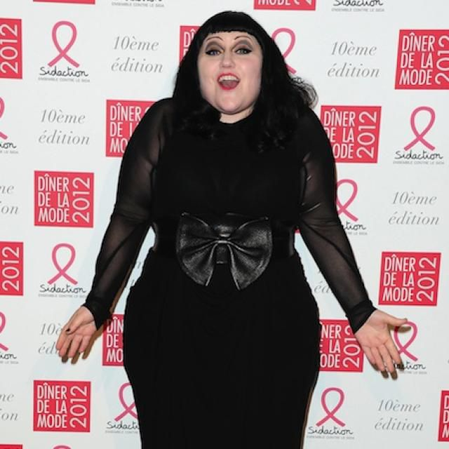 Beth Ditto elskar aukakílóin. <em>mbl.is/ Cover Media</em>