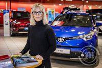 Sigurrós Pétursdóttir. vörustjóri Toyota