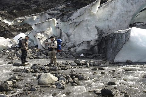 Glacier Walk and Northern Lights