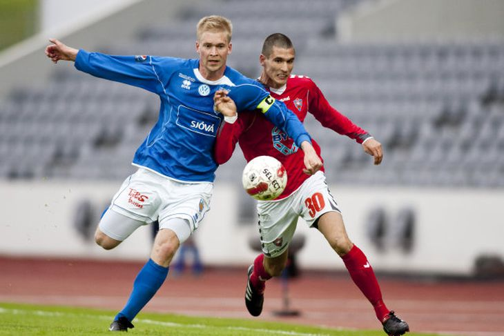 Kristján Hauksson sem hefur verið fyrirliði Fram síðustu árin er búinn að semja við Fylki.