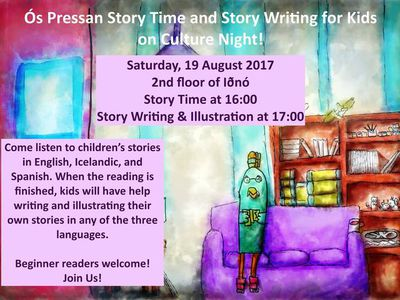 Story Time and Story Writing