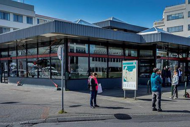 Hlemmur, a former bus central is now turning into a food hall, and the whole ...