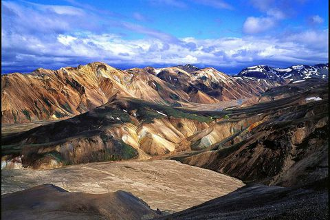 Landmannalaugar is one end of Laugavegur hiking path
