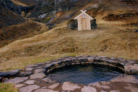Gudrunarlaug-Natural pool