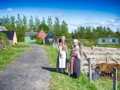 Reykjavík in the olden days