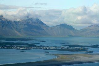 Ungi maðurinn hélt til Hafnar í Hornafirði fyrir rúmu ári.