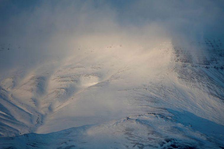 Mount Esja in its winter coat can be very dangerous.