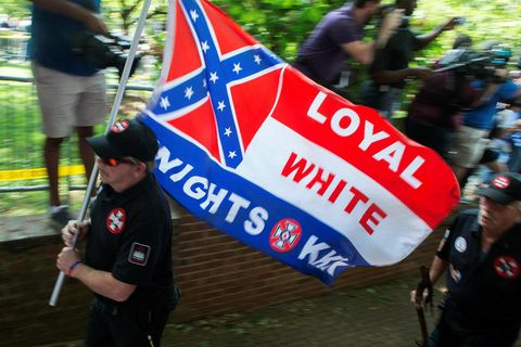 A US white supremacist