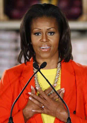 Michelle Obama er vinsæl forsetafrú.