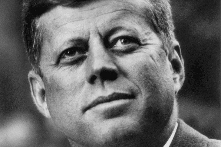 Kennedy var myrtur í nóvember árið 1963.