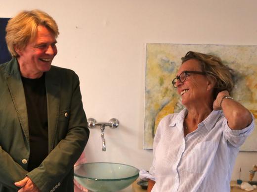 Blossi: Samsýning Sossu og Antons Helga Jónssonar