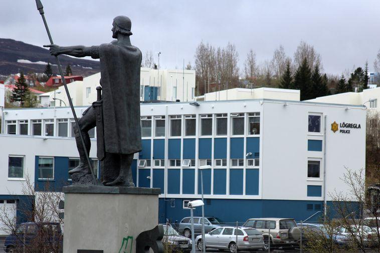 Akureyri Police Station.