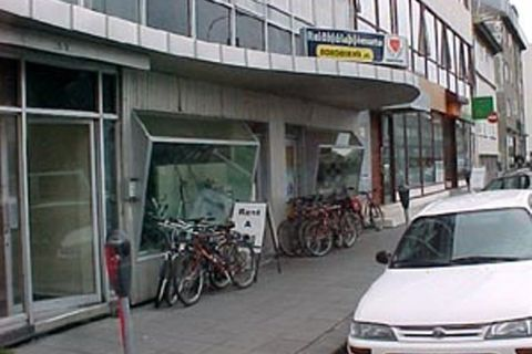 Borgarhjól bike rental