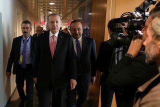 Recep Tayip Erdogan, forseti Tyrklands.