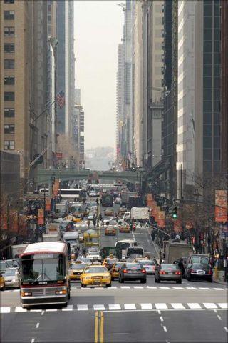 Frá Manhattan.