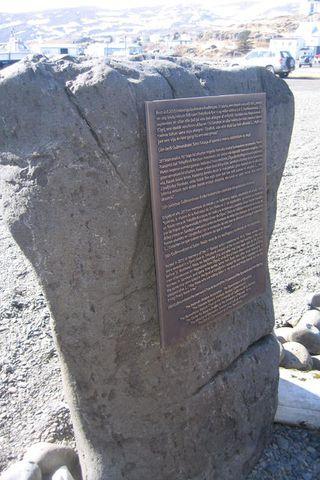 Minnisvarði baskanna sem fórust árið 1615