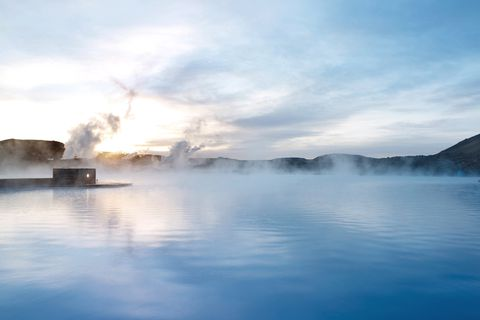 The Blue Lagoon in Iceland is reputed for its healing waters and remains one of the most visited attractions in the country.