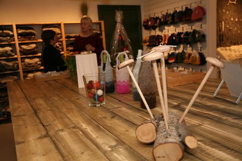 Ullarselið - Wool Centre