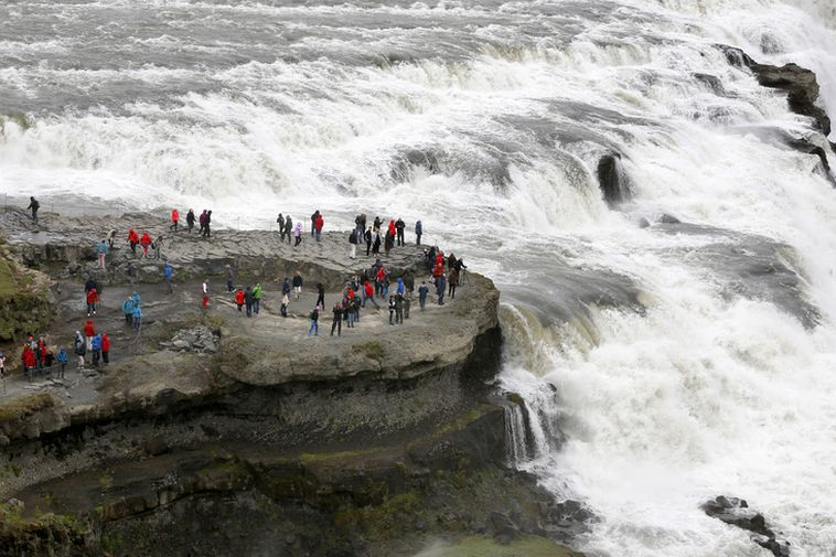 Gullfoss is a part of the so called Golden Circle and one of the most ...
