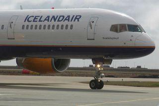 Flugvél Icelandair.