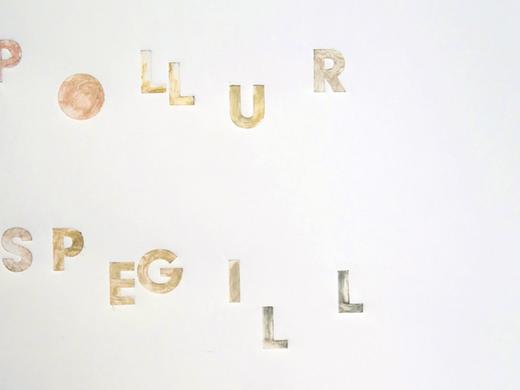 Margrét H. Blöndal: pollur - spegill