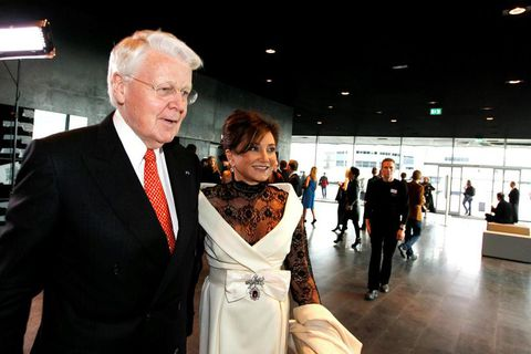 President Ólafur Ragnar Grímsson and first lady Dorrit Moussaieff.