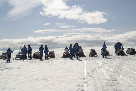 Gullfoss, Geysir and Langjökull