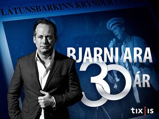 Bjarni Ara í 30 ár