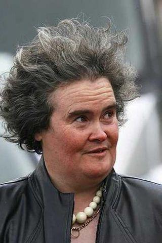 Susan Boyle komst áfram í úrslit breska sjónvarpsþáttarins Britain's Got ...