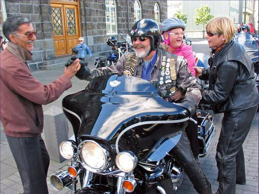 HOG Chapter Iceland - Charity Ride