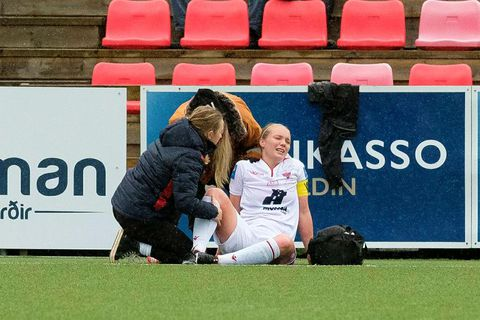 Margrét Lára Viðarsdóttir is one of Iceland's most famous football players.