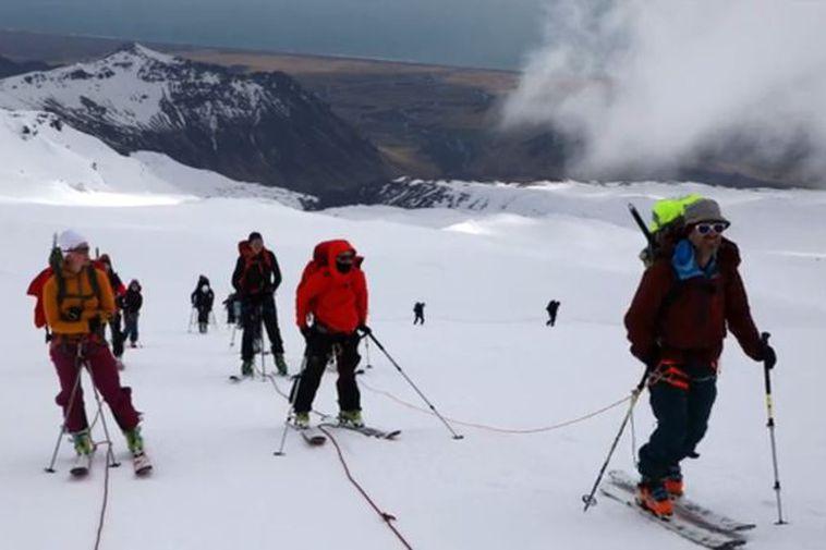 Eyjafjallajökull erupted in 2010