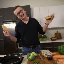 Ferskt ravioli í ljúfri parmesanostasósu