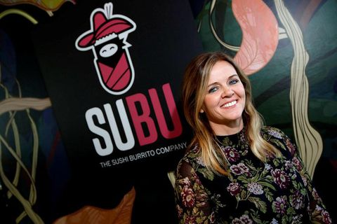 Lukka, owner of Happ and now SuBu, who offer sushi burritos.