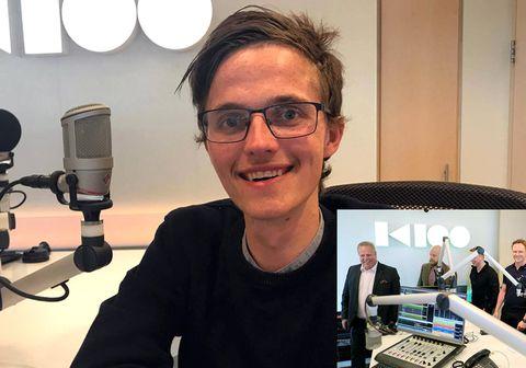 Gunnar Karl Haraldsson ætlar að hlaupa 10 km í hjólastól ásamt Heimi Hallgrímssyni og fleirum.