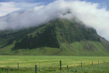 The Eyjafjöll mountain range.