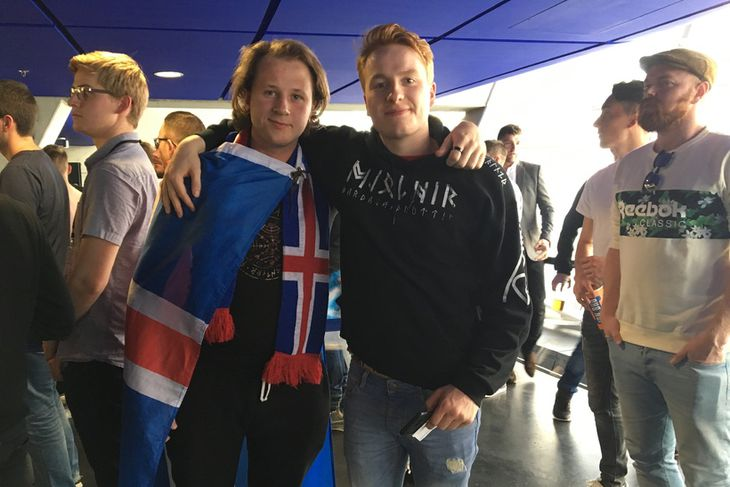 Jóhann Helgi Gislason og Árni Þorleifsson.