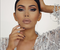 Jelena Peric er tvífari Kim Kardashian.