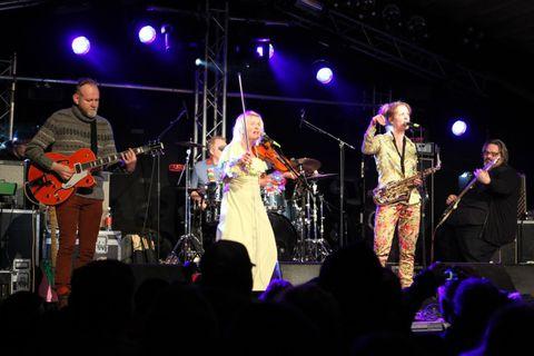 Photos: Crowds at Aldrei fór ég suður music festival