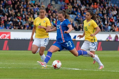 The Icelandic Women's Football Team competes in the EURO 2017 next July.