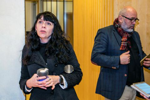 Birgitta Jónsdóttir, Pirate MP (left).