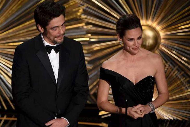 Benicio del Toro og Jennifer Garner tóku sig vel út.