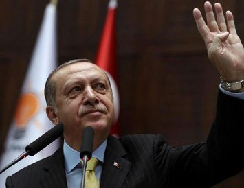 Recep Tayyip Erdogan Tyrklandsforseti.