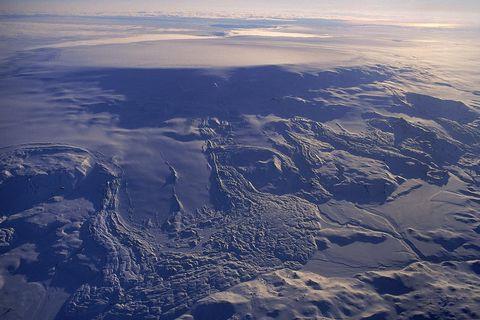 The Bárðarbunga caldera is located under Vatnajökull glacier, Europe's largest glacier.