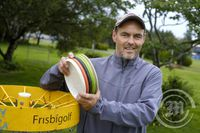 Birgir Ómarsson - formaður íslenska frisbígolfsambandsins