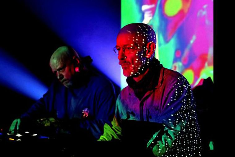 Alex Paterson and Thomas Fehlmann of The Orb.