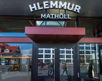 Hlemmur Mathöll, the new food hall at Hlemmur has become a popular foodie destination for Reykjavik locals.