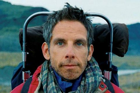 Ben Stiller in the film The Secret Life of Walter Mitty which was partly filmed in Iceland.