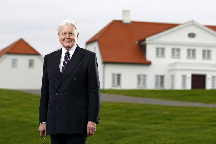 Ólafur Ragnar Grímsson, forseti Íslands.